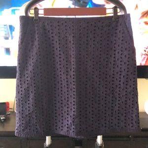 NWT Navy Loft Skirt